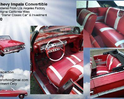 1961 Chevy Impala Convertible 348 Tri-Power