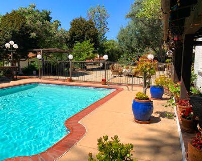 Private Outdoor Venue/Space in Los Angeles + Pool + Resort Style + Hacienda + Mountains + Cabana + Indoor/Outdoor Jacuzzi & Sauna, Sun Valley, CA