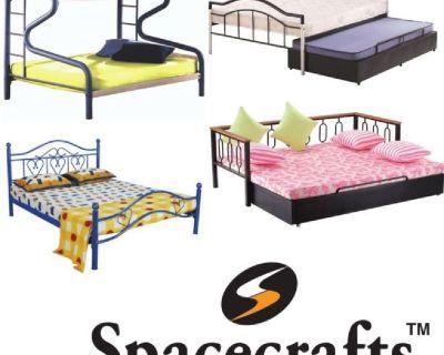 Buy Metal Cot | Sofa cum bed | Dining sets | Metal Bed