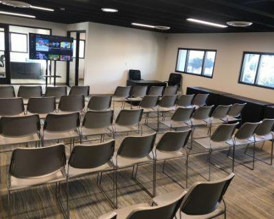 Pasadena Professional Event & Workshop Venue: Reception Space, Private Offices & Presentation Amenities, Pasadena, CA