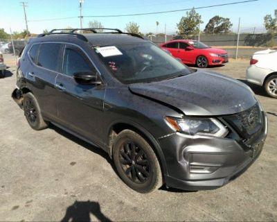 Salvage Gray 2018 Nissan Rogue
