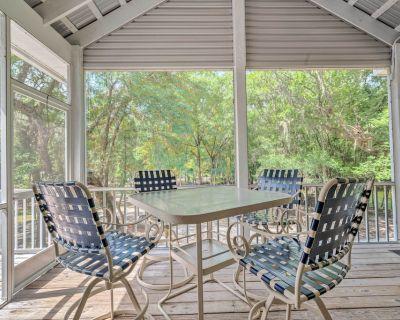 New! Suwannee Preserve River Home w/ Float Dock! - Bell