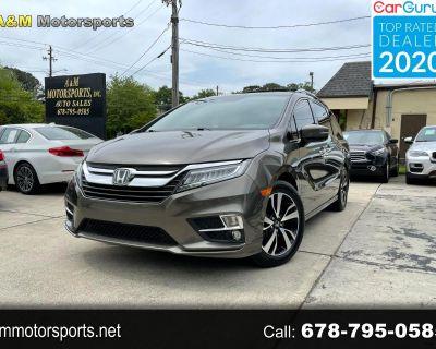 2018 Honda Odyssey Elite-Navigation-Camera-DVD-Driver assist