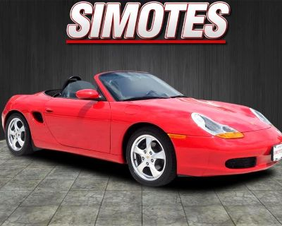 Used 2002 Porsche Boxster 2dr Roadster 5-Spd Manual