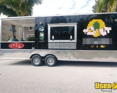 Super Neat 2019 Cynergy 10' x 31' Barbecue Food Trailer with Porch