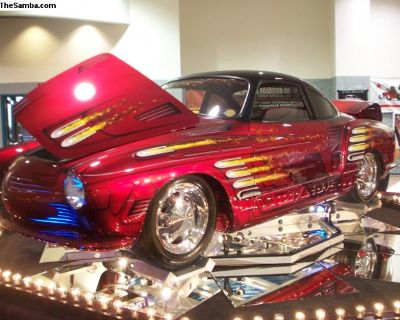 Rodbuster Ghia Show Car and Display Trailer