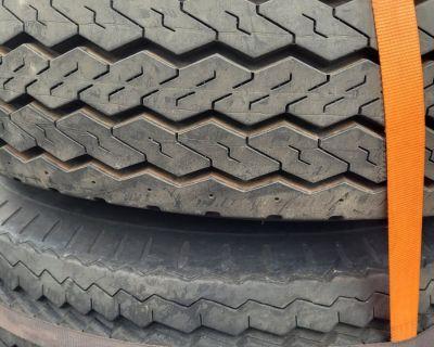 FS 9.5x16.5 tires on 8 lug wheels