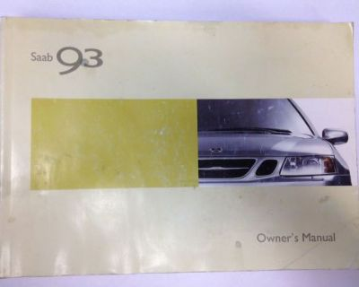 2004 Saab 93 Owners Owner's Manual English Usa Canada Mr Remotes Inc
