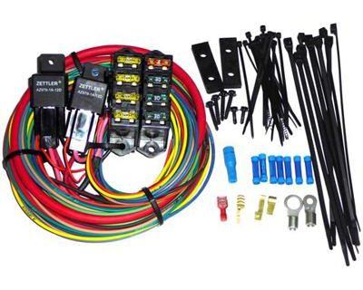Painless 70118 7 Circuit Universal 140 Amp Fuse Block
