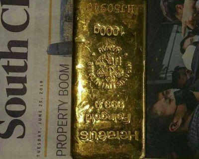 Gold bar 98% purity