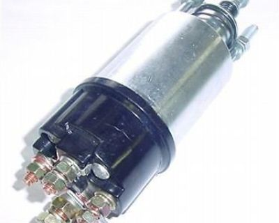 Starter Solenoid For Lucas M50 Ford Massey New Holland Tractor Forklift & More