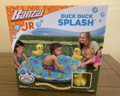 NEW BANZAI JR Duck Duck Splash