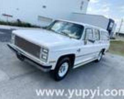1987 Chevrolet Suburban Automatic SUV V8 454cid with AC