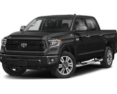 New 2021 Toyota Tundra Platinum 4WD CrewMax
