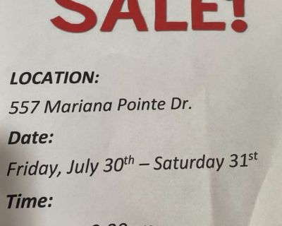 Garage sale in Loveland Co