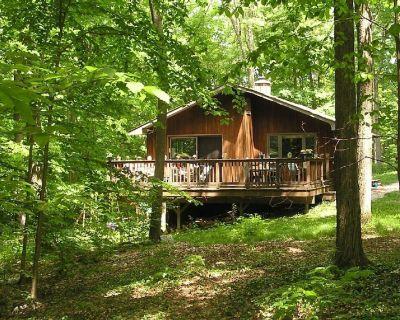 Whitman Woods: Private Berkshire Vacation, 4 acres - Hancock