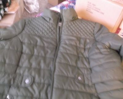 faded glory ladies quilted winter coat size 2x