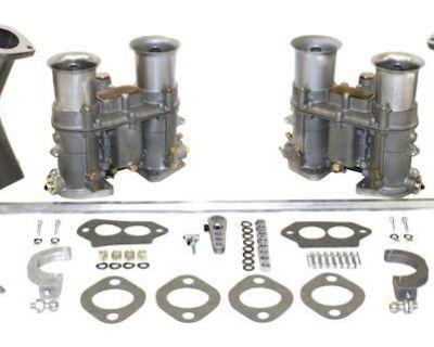 48 EPC Carburetors Dual Drag Race manifolds Hex